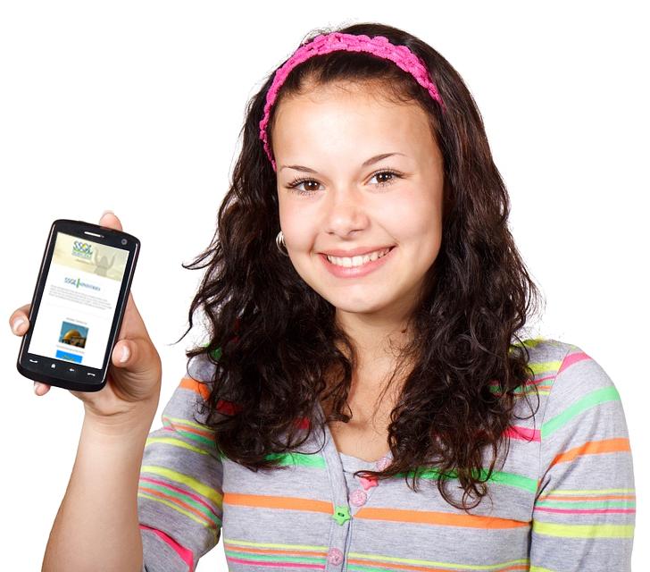 SSOL website on mobile phone